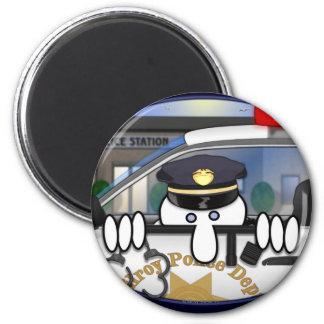 Police Kilroy Magnet