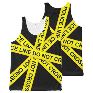 POLICE LINE All-Over PRINT TANK TOP