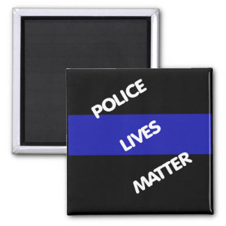 POLICE LIVES MATTER MAGNET