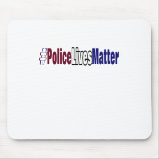 # Police lives matter Mouse Pad