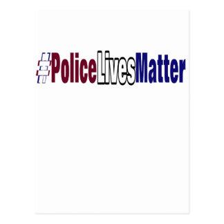 # Police lives matter Postcard