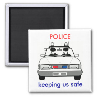 Police Magnets