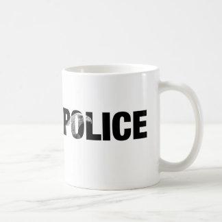 Police Basic White Mug