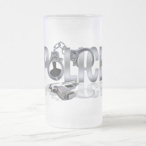 POLICE Mug Design