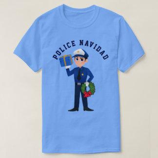 Police Navidad T-Shirt