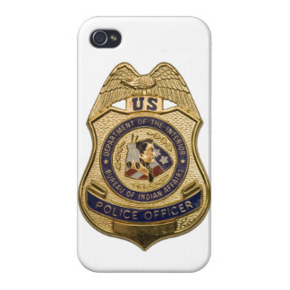Police Officer Badge I-Phone 5 Cover Covers For iPhone 4