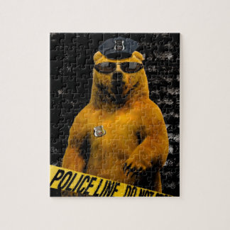 Police Officer Bear! Jigsaw Puzzle