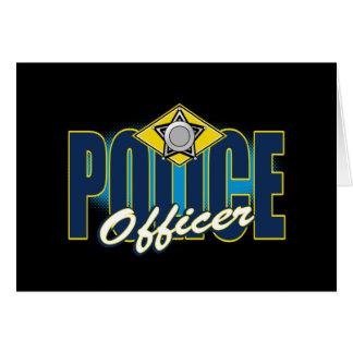 Police Officer Card