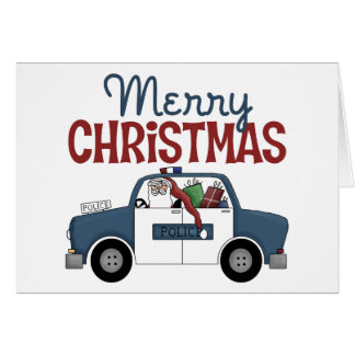 Police Officer Christmas Card