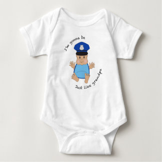 Police officer grandpa tees