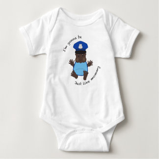 Police officer mommy t shirt