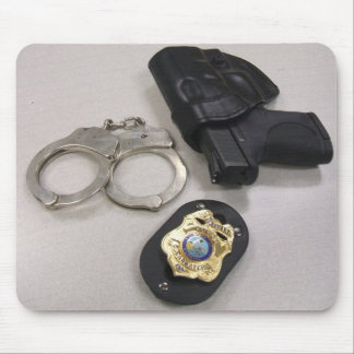 Police Officer Mouse Pad
