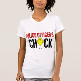 Police Officer's Chick 1 T-Shirt