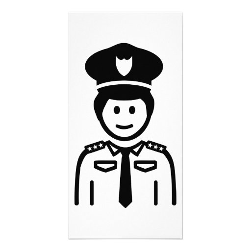 Police Officer uniform Photo Cards