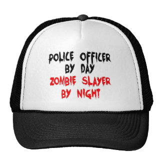 Police Officer Zombie Slayer Cap
