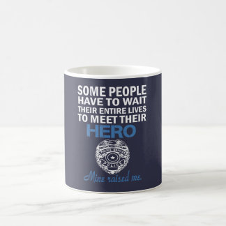 POLICE OFFICER'S DAUGHTER COFFEE MUG