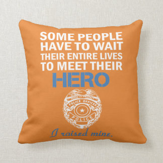 Police Officer's Mom Cushion