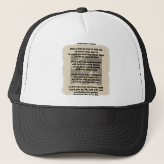 Police Officer's Prayer Hat