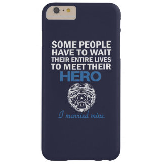 Police Officer's Wife Barely There iPhone 6 Plus Case