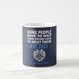 Police Officer's Wife Coffee Mug