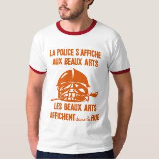 police paris uprising shirt