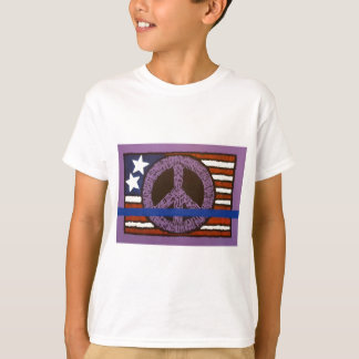 Police Peace Sign. T-Shirt