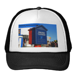 Police Phone-horizontal Cap