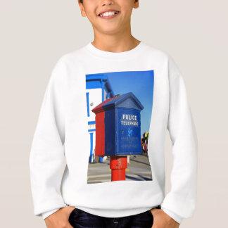 Police Phone- vertical Sweatshirt
