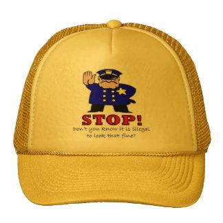 Police Pick Up Line Hat