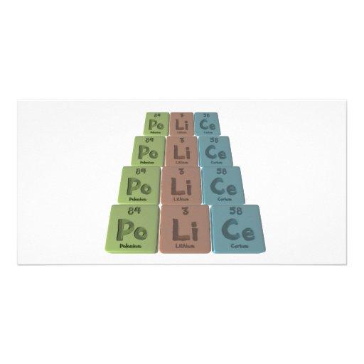 Police-Po-Li-Ce-Polonium-Lithium-Cerium.png Photo Cards
