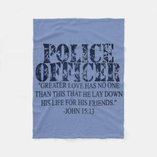 Police Prayer Blanket