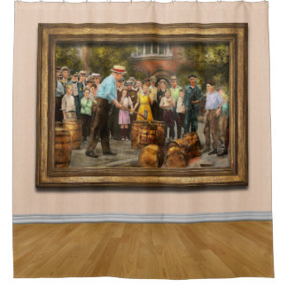 Police - Prohibition - A smashing good time 1921 Shower Curtain