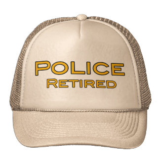 Police Retired Hat