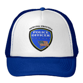 Police Serving Proudly Hat