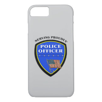 Police Serving Proudly iPhone 7 Case