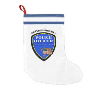 Police Small Christmas Stocking