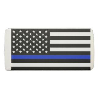 Police Styled American Flag Eraser