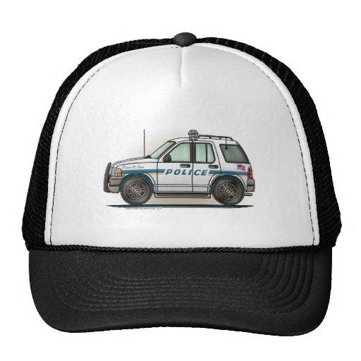 Police SUV Cruiser Car Cop Car Hat