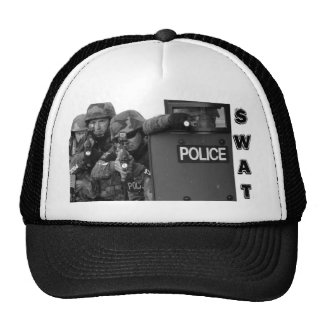POLICE, SWAT, HAT