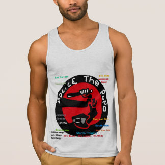 Police the PoPo anti Stop and Frisk Design Singlet