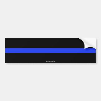 Police Thin Blue Line Bumper Sticker