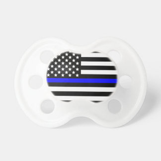 Police Thin Blue Line support Pacifiers