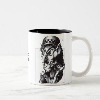 Police Watchdog Two-Tone Mug