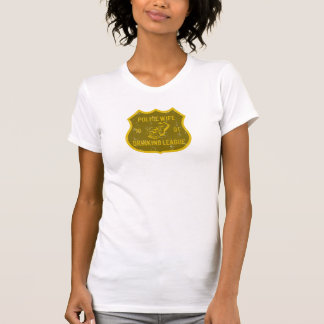 Police Wife Drinking League T-Shirt