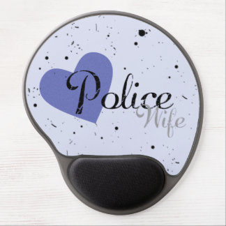 Police Wife Gel Mouse Pad