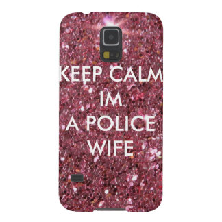 Police wife phone case