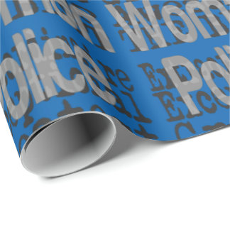 Police Woman Extraordinaire Wrapping Paper