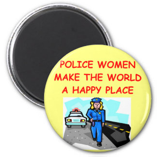 police women magnet