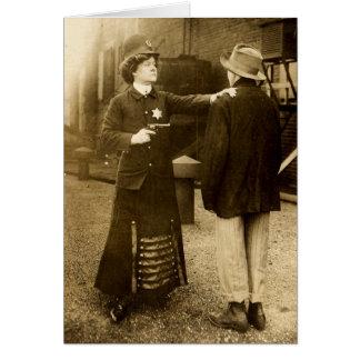 Policelady Card