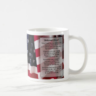 policemans prayer 2 mug